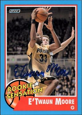 ET 2011-12 Fleer Retro Autographs #81 E'Twaun Moore RS