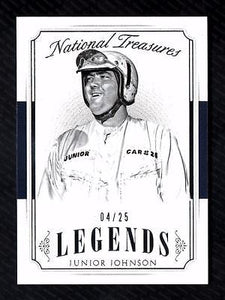 ET) 	2016 Panini National Treasures #45 Junior Johnson LEG 04/25