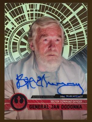 2017 Topps Star Wars High Tek #75 General Jan Dodonna Autograph AUTO