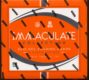 2018 Panini Immaculate Collection Football Box