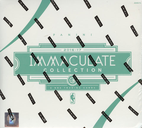 2016-17 Immaculate Collection Basketball Hobby Box
