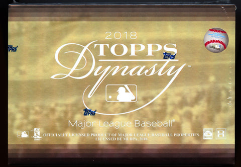 2018 Topps Dynasty Baseball Box