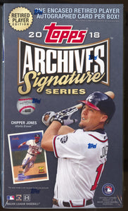 2018 Topps Archives Signature Series Retired Player