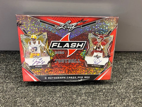 2020 LEAF FLASH FOOTBALL BOX