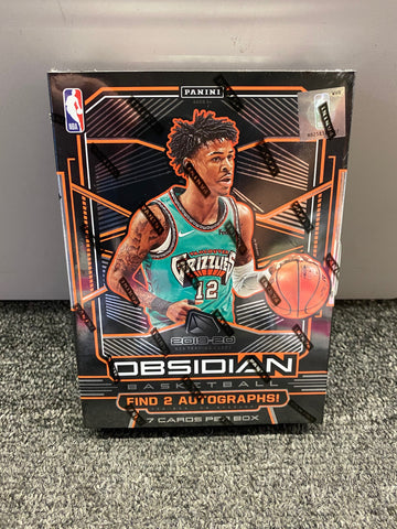 2019-20 OBSIDIAN BASKETBALL BOX