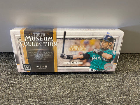 2020 museum collection hobby baseball box