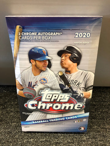 2020 TOPPS CHROME BASEBALL HOBBY