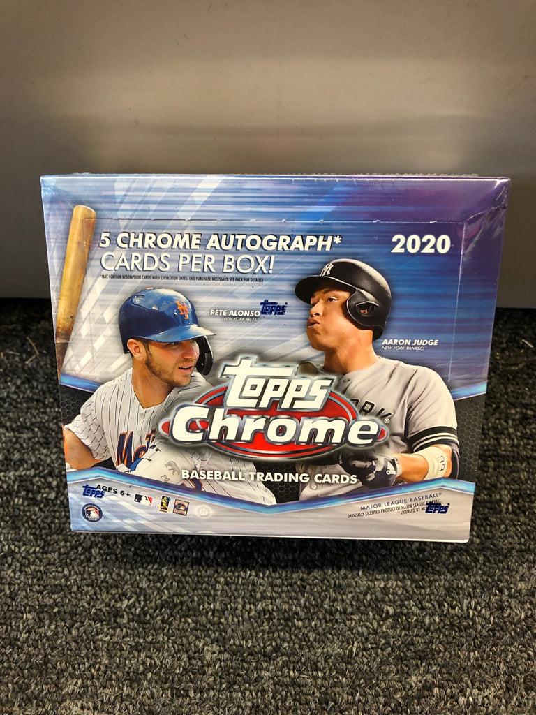 2020 TOPPS CHROME BASEBALL JUMBO BOX