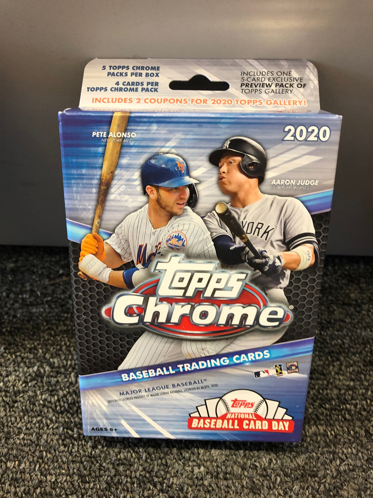 2020 TOPPS CHROME BASEBALL HANGER BOX