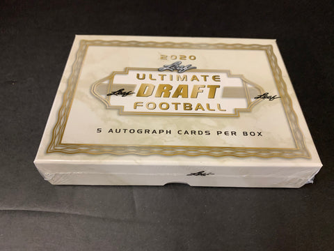 2020 LEAF ULTIMATE DRAFT HOBBY BOX