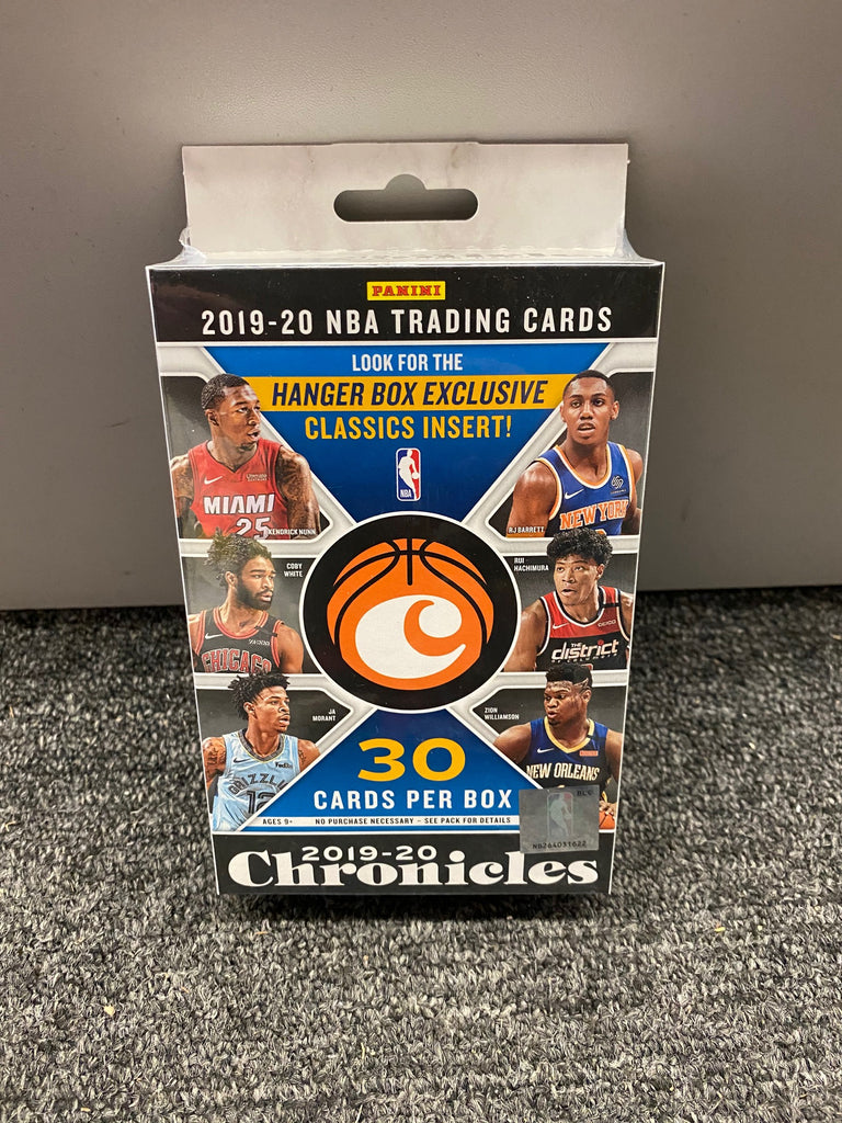 2019-20 chronicles basketball hanger box