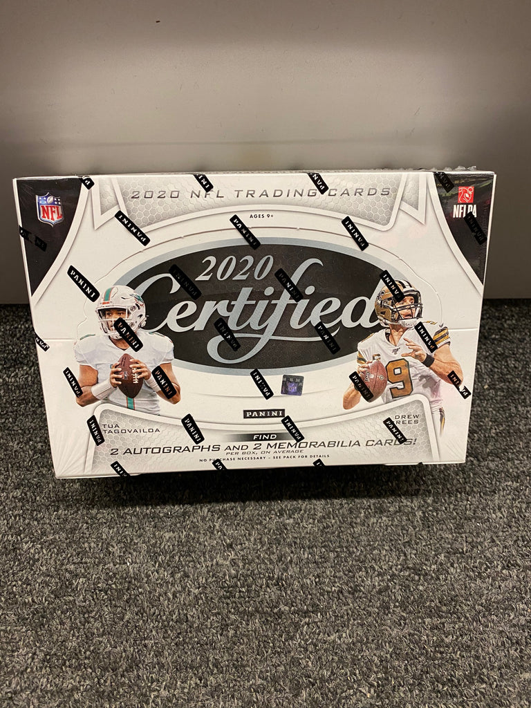 2020 CERTIFIED FOOTBALL BOX