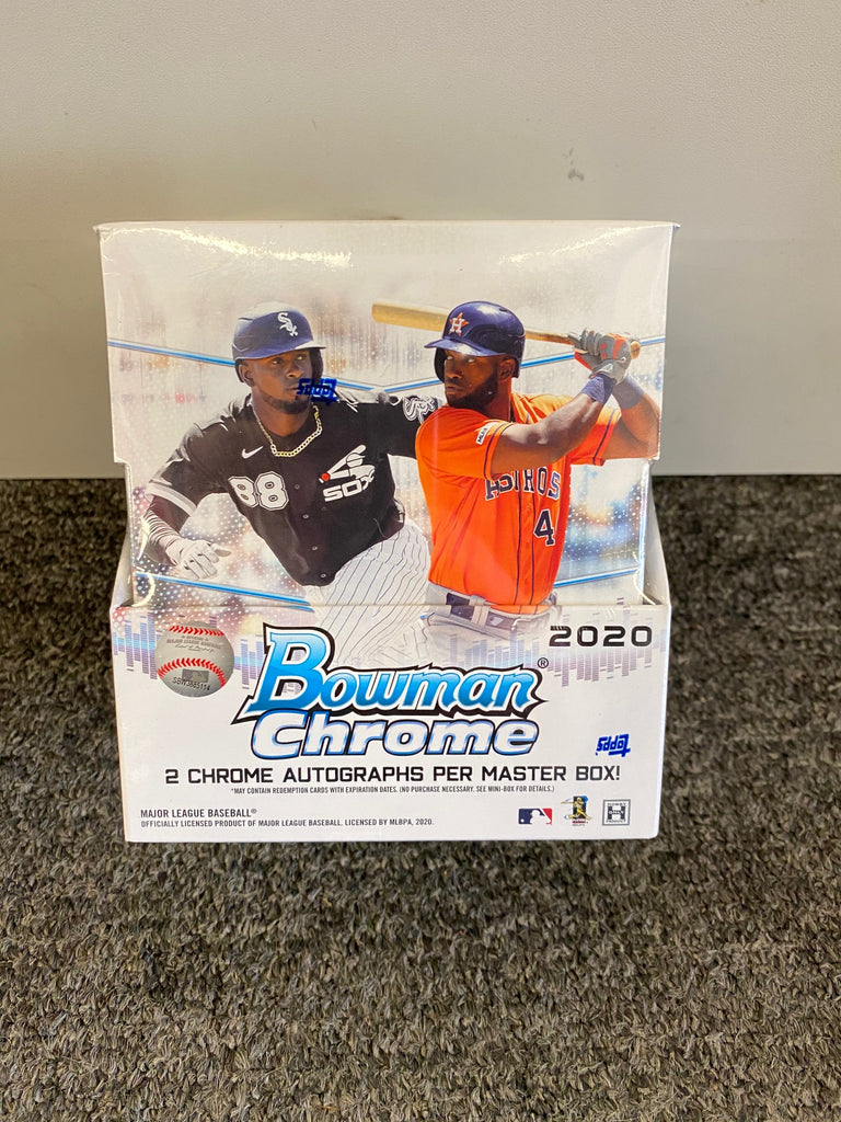 2020 Bowman Chrome Baseball Hobby