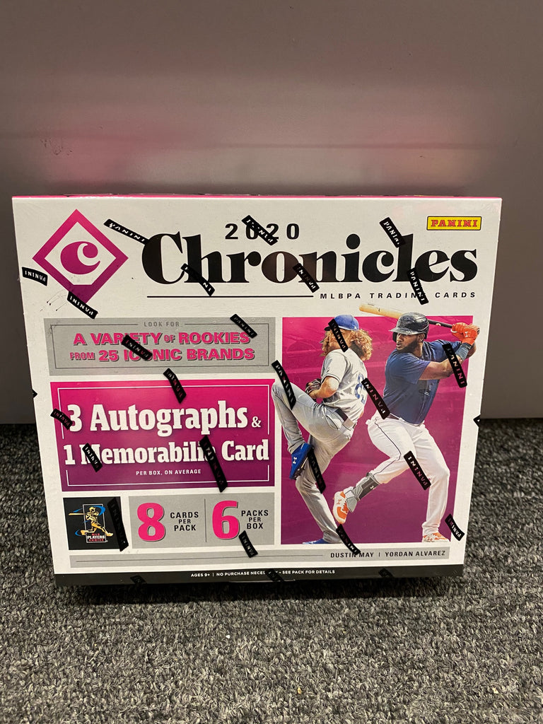 2020 CHRONICLES BASEBALL BOX