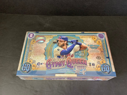 2020 GYPSY QUEEN BASEBALL HOBBY BOX