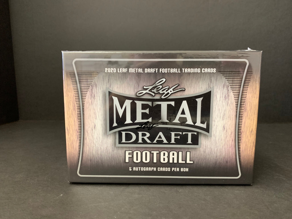 2020 LEAF METAL FOOTBALL HOBBY BOX