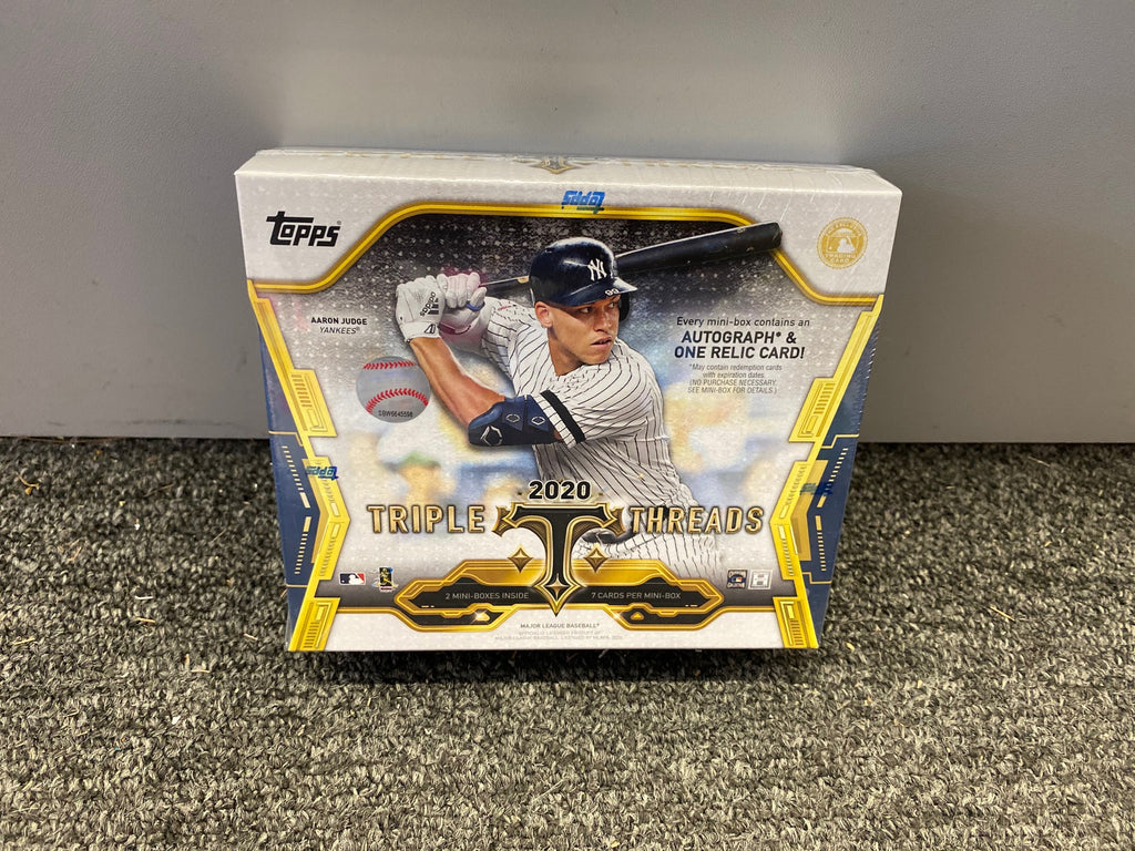 2020 TRIPLE THREADS BASEBALL BOX