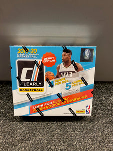 2019-20 CLEARLY DONRUSS BASKETBALL BOX