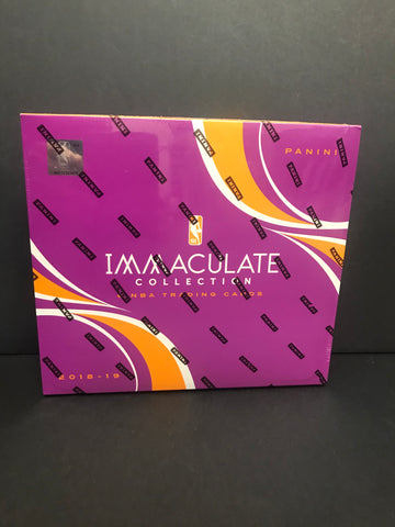 2018-19 Immaculate Collection Basketball Box
