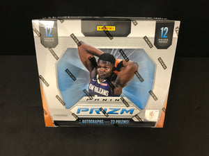 2019-20 PRIZM BASKETBALL HOBBY BOX