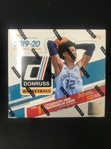 2019-20 DONRUSS BASKETBALL HOBBY BOX