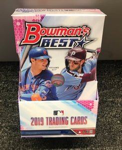 2019 BOWMANS BEST BASEBALL HOBBY BOX