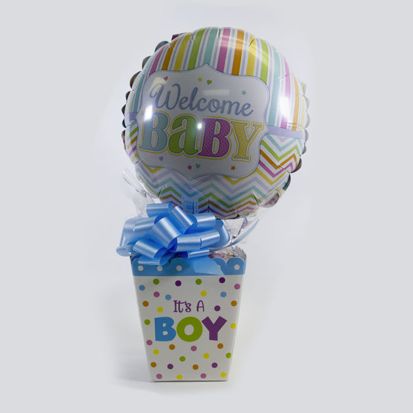 Baby Balloon/Candy Combo - boy