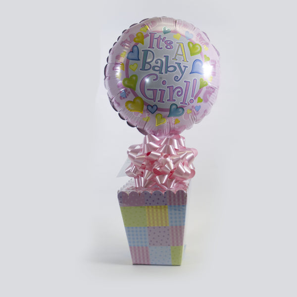 Baby Balloon/Candy Combo - girl