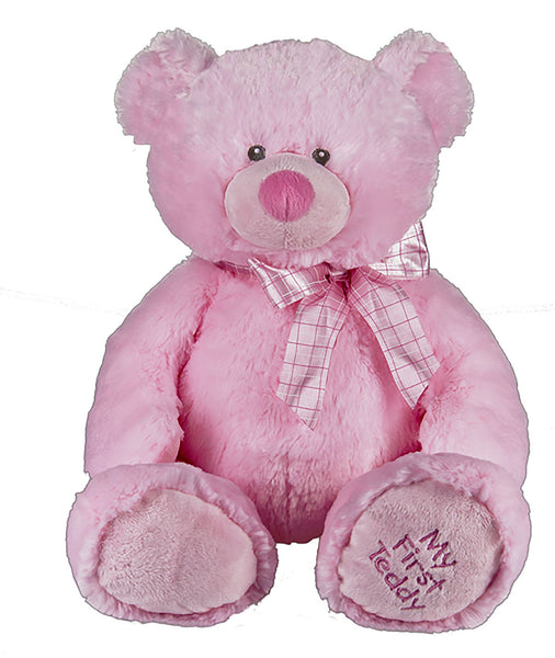"Baby Bear ""My First Teddy"" (pink)"