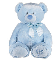 "Baby Bear ""My First Teddy"" (blue)"