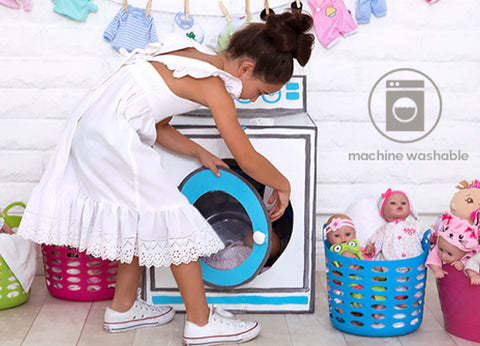 Try it for yourself - Machine Washable Toys