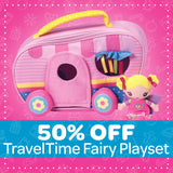 50% Off TravelTime Fairy Play Set