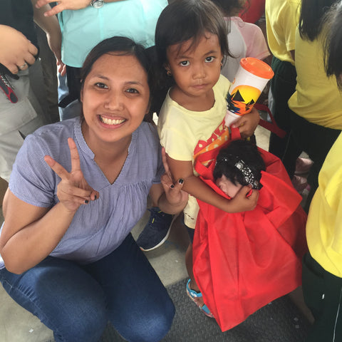 Charisma Brands donates hundreds of dolls to children in the Philippines