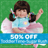 50% off ToddlerTime Doll Sugar Rush