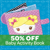50% Off Baby Activity Book