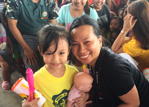 Charisma Brands, LLC. donates dolls in the Philippines