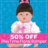 50% OFF PlayTime Baby Floral Romper