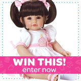 WIN THIS - ToddlerTime Doll Let's Celebrate, Baby