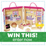 WIN THIS - Owie Hospital Wooden Play Set