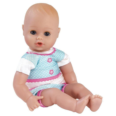 "Adora Bathtime Baby Doll Girl, 13"" Baby Kitty, Washable Toys for Ages 1+"