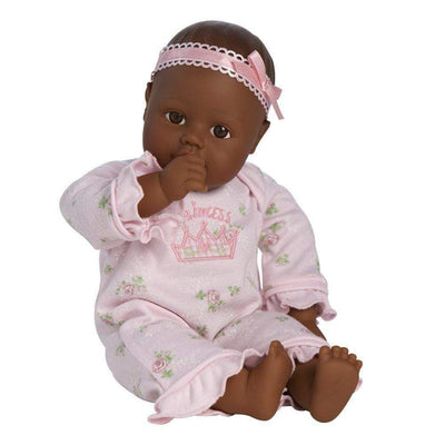 "Adora Playtime Baby Doll, 13"" African American Vinyl Baby Doll Little Princess, Ages 1+"