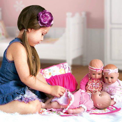 "Adora Playtime Baby Doll, 13"" Toys Baby Doll Flower, Ages 1+"