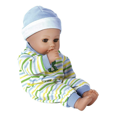 "Adora Playtime Baby Doll, 13"" Washable Soft Baby Doll Prince, Ages 1+"