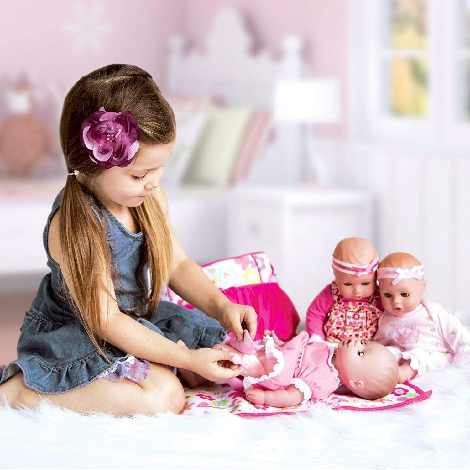 Quot Little Princess Quot Playtime Girl Baby Doll 13 Inch Doll