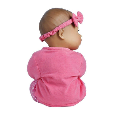 "Adora Playtime Baby Doll, 13"" Toys Baby Doll Pink, Ages 1+"