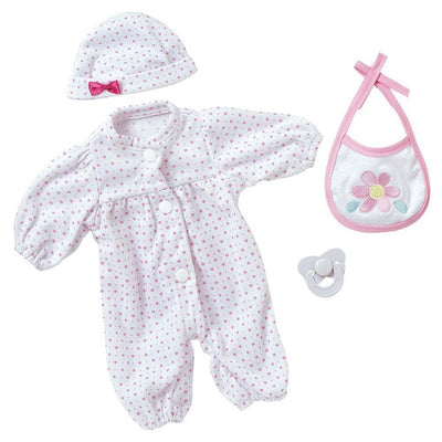 "Adora Playtime Baby Doll, 13"" Washable Soft Baby Doll Gift Set, Ages 3+"