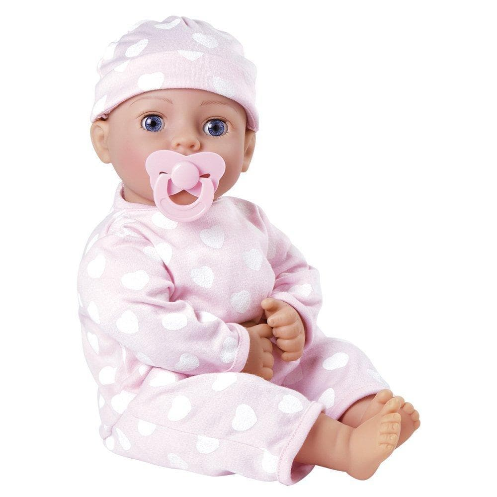 Choosing a baby doll for a gift to a little daughter or granddaughter 22