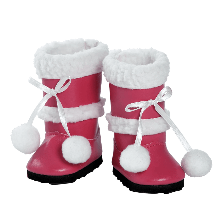 Adora 18 inch Doll Shoes - Pink Boots