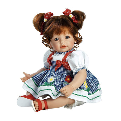 Adora Realistic Toddler Baby Dolls for Kids, 20 inch Daisy Delight