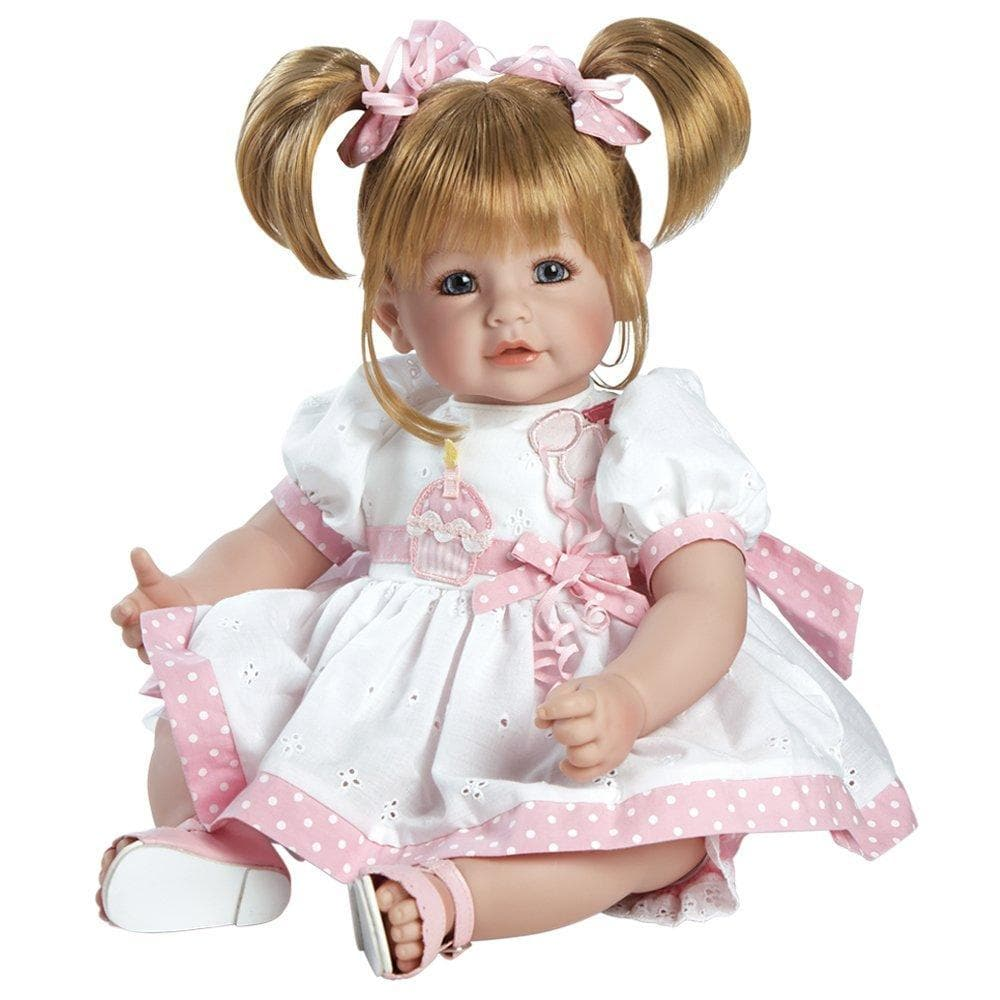 80572aa7147b Adora Realistic Toddler Baby Dolls for Kids, 20 inch Happy Birthday, Baby